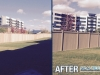 fence-painting-commercial-before-after