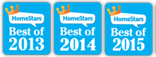HomeStars Best of 2013, 2014