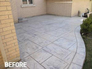 What to expect when we seal your natural stone or pattern concrete?