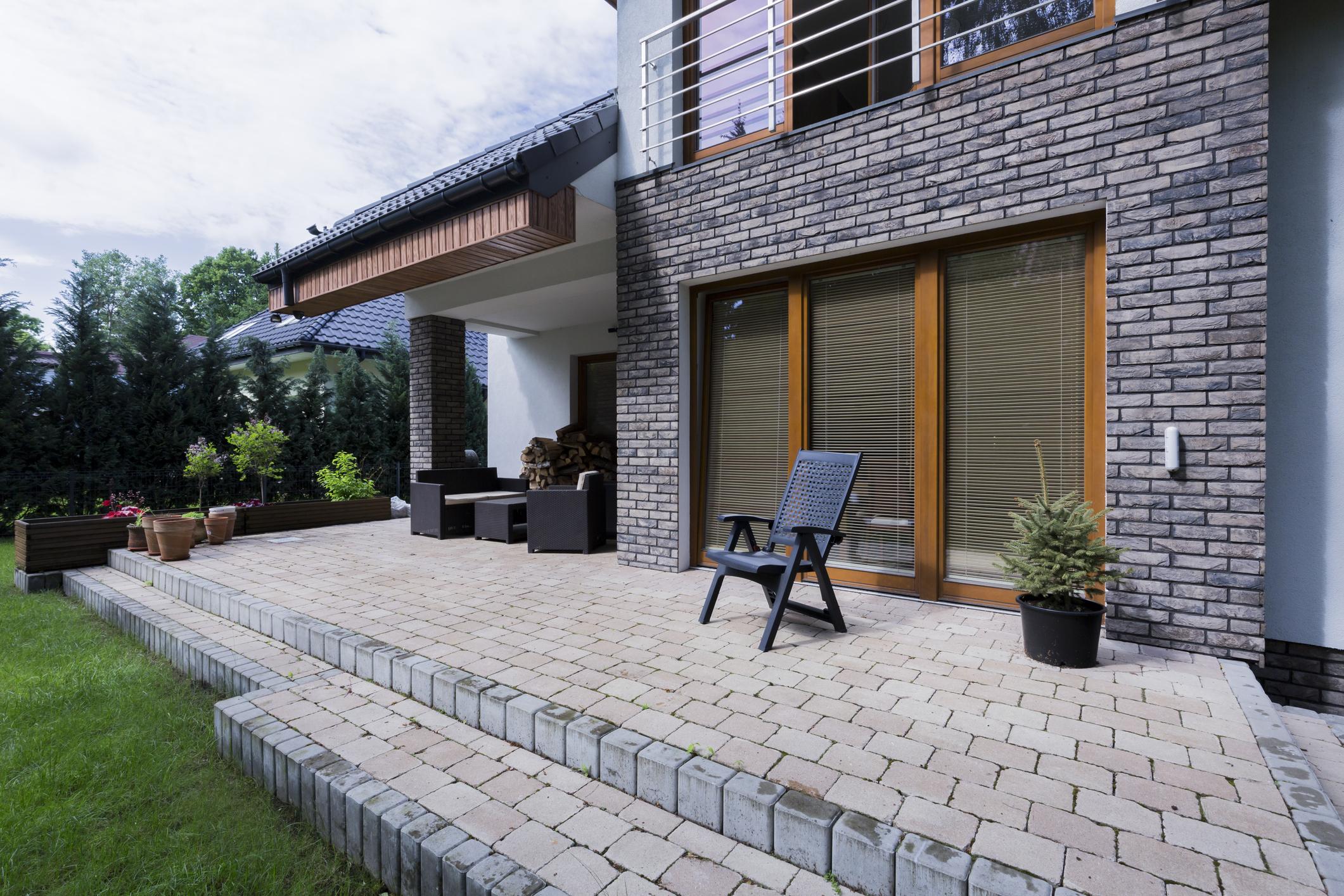 Interlock Sealer Designs outdoor patio